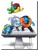 Google Chrome passe devant Firefox dans le monde